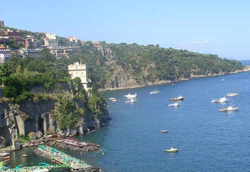 Sorrento's gulf view